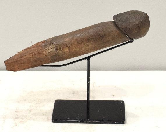 African Togo Wood Fertility Statue Ghana