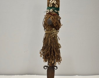 African Kuba Knife and Sheath Congo