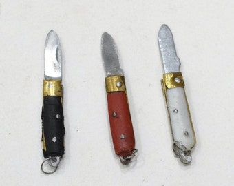 Knife Mini Knives Handcrafted India Key Chain
