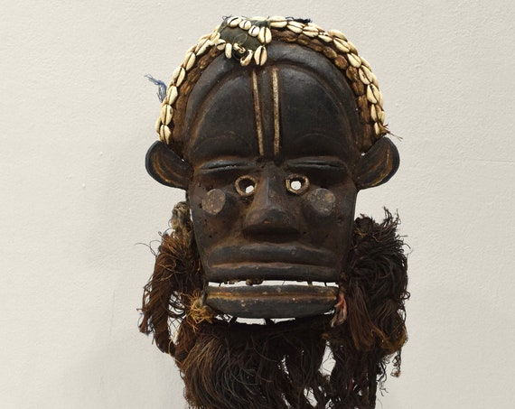 African Mask Guere Ritual Ceremonial Mask