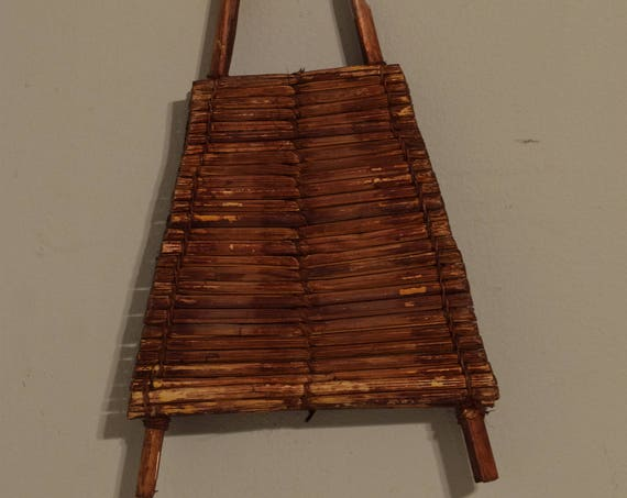 African Kaeba Shaker Rattle Kenya Cane Musical Seed Shaker