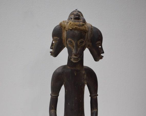 African Statue Senufo Wood Figure Ivory Coast
