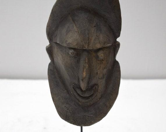 Papua New Guinea Yena Yam Spirit Mask Abelam Tribe Yam Harvest Mask