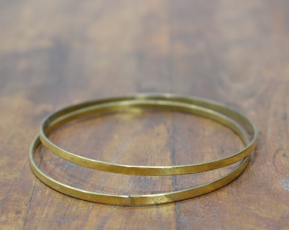 Bracelet Brass Bangle Vintage Bracelets