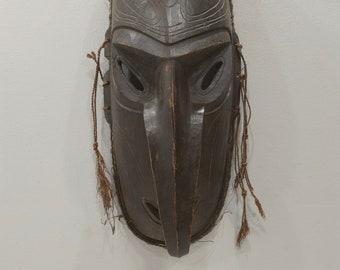 Papua New Guinea Mask Murik Lakes Lower Sepik River