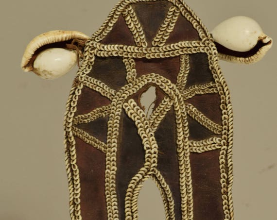 Papua New Guinea Fofana Initiation Male Shell Front Ornament Decoration