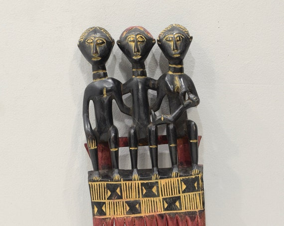 African Ashanti Comb Ghana Presitge Status Comb