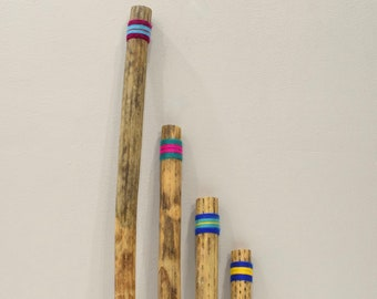 Rainstick Chilean Cactus Handmade Rainstick 3 Sizes