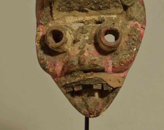 Mask Africa Dan We Guere Wood  Mask