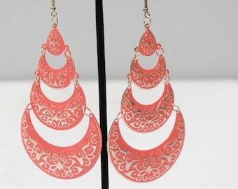 Earrings India Pink Tier Earrings