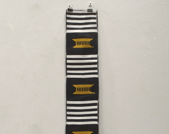 African Kente Cloth Stole Hand Woven Kente Cloth Ashanti Tribe Ghana