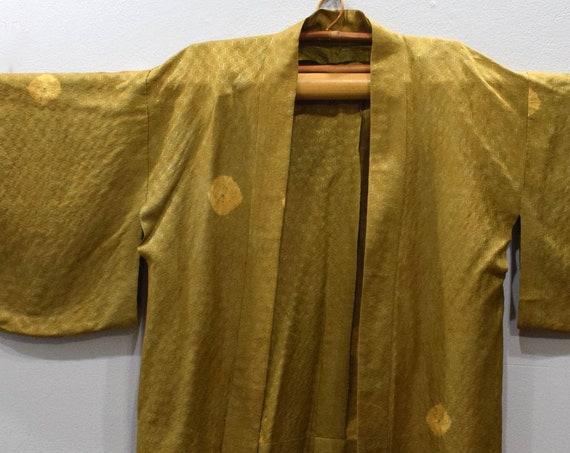 Kimono Japanese Gold Kimono