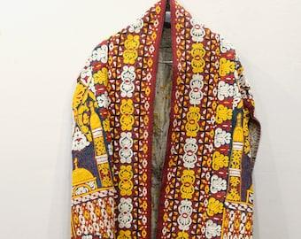 Dress Vintage Afghani Handmade Embroidered Chyrpy Coat