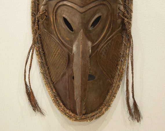 Papua New Guinea Mask Andingamai Dance Mask Angoram Village Sepik River