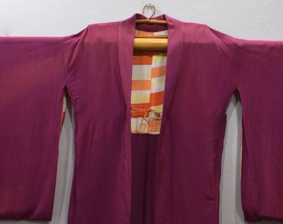 Kimono Japanese Fuchsia Kimono