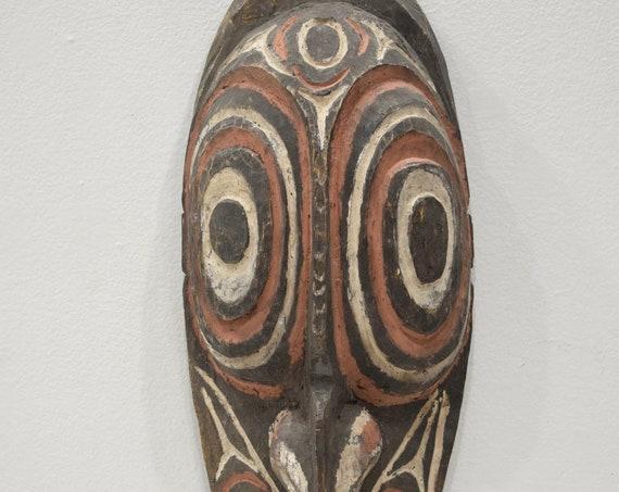 Papua New Guinea Mask Black Water Lakes Spirit Mask