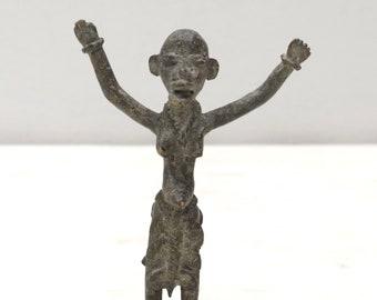 African Bronze Lobi Tribe Fetish Figure