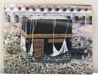 Hajj Holy City of Mecca Holographic Pilgrimage PIcture