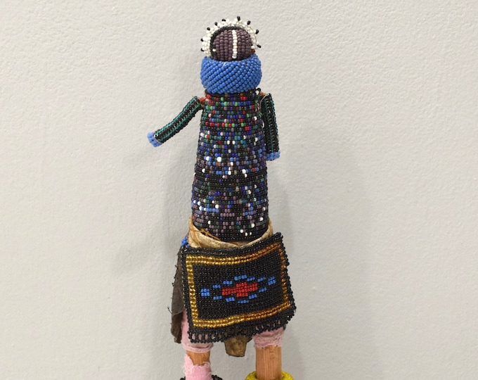 Featured listing image: African Ndebele Doll Beaded Fertility Initiation Doll RSA