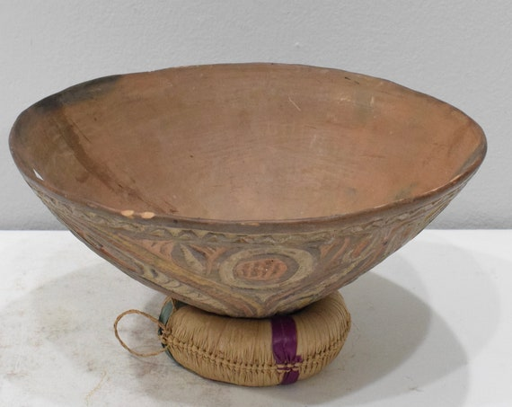 Papua New Guinea Ceramic Clay Pot Abelam