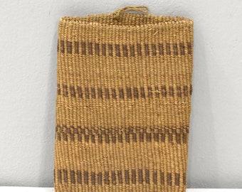 African Zulu Woven Sisal Spoon Bag RSA