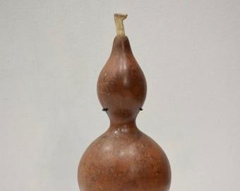 Papua New Guinea Gourd Lime Spatula Cassowary Bone Lime Spatula