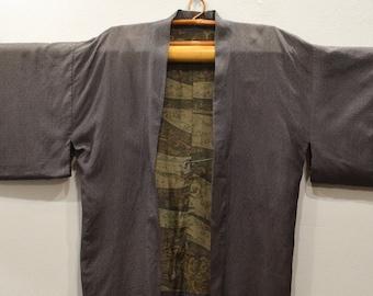 Kimono Japanese Brown Kimono
