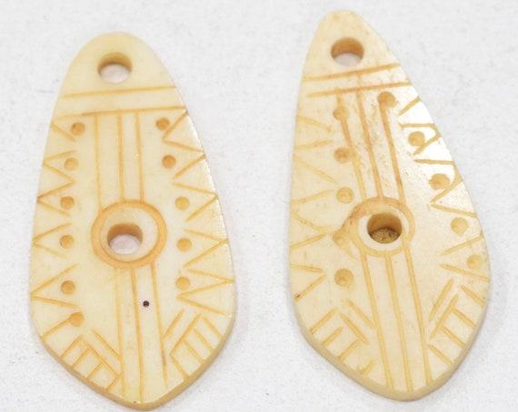 Beads Indonesia Bone Pendants 49-50mm