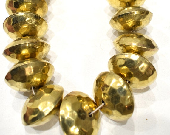 Beads India Large Brass Beads 40mm