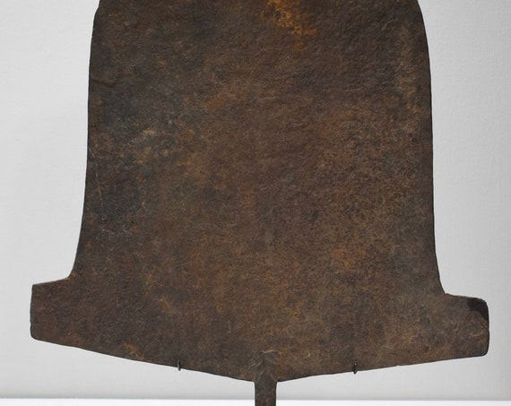 """African Iron Currency Shovel Nigeria 26 3/4"""""""