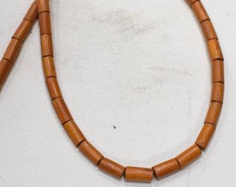Beads Bayong Wood Tubes Beads 10-12mm