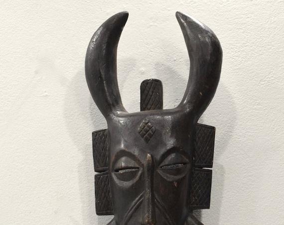 African Mask Senufo Tribe Ivory Coast