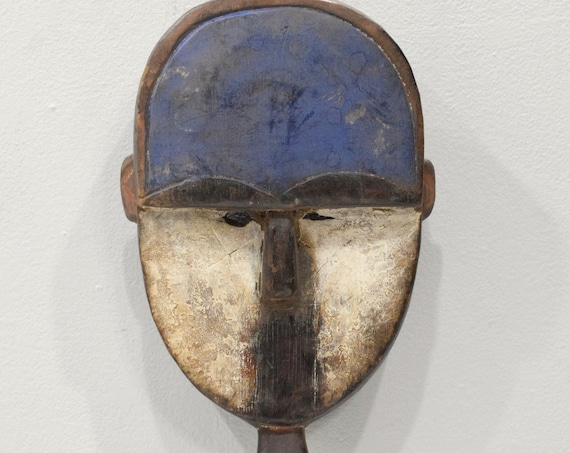 "Mask African Mbete Mask Gabon 13.5"""