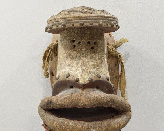 Mask African Grebo Tribe Initiation Mask