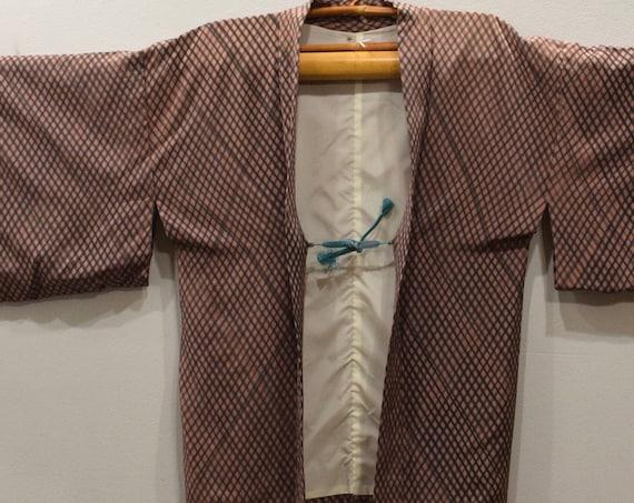 Kimono Japanese Pink Black Kimono