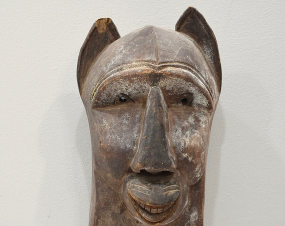 African Mask Hemba Soko Zaire Animal Mask