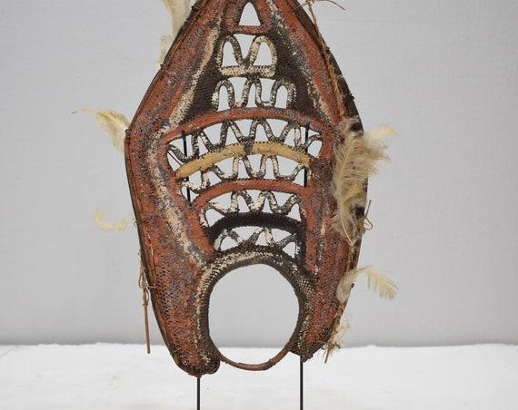 Papua New Guinea Mask Yam Woven Headdress