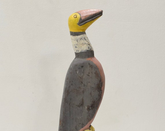 Papua New Guinea Bird Wood Statue Sabut Creation Myth Bird