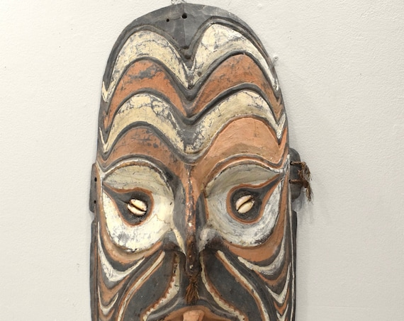 Mask Papua New Guinea Iatmul Ancestor Mask