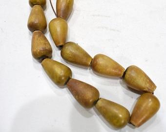 Beads Philippine Wood Vase Beads 27mm