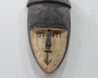 African Mask Yoruba Tribe Healers Mask