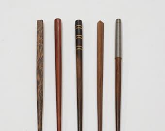 Hair Sticks Indonesian Assorted Wood Hair Sticks