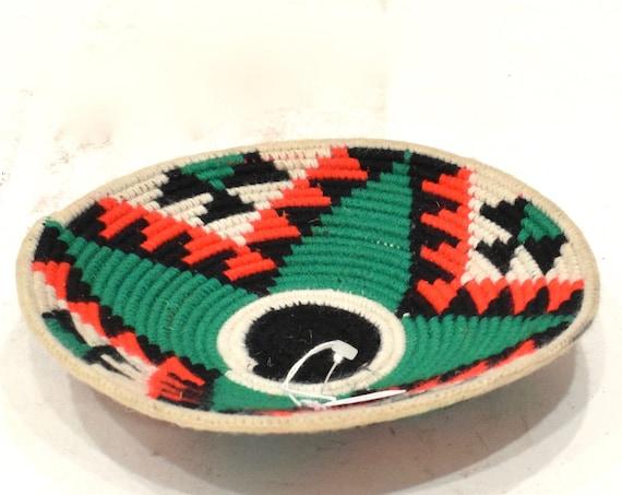 Basket African Zulu Grass and Ilala Palm Baskets