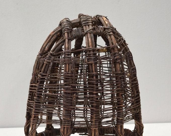 Featured listing image: African Basket Ethiopian Burden Reed Basket Borana Tribe