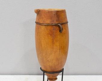 African Wood Pokot Old Milk Water Pitcher Kenya