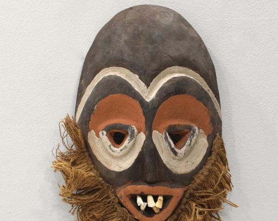 African Mask Malindi Warega Wood Mask Zaire