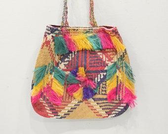Papua New Guinea Purse Woven Fiber Bag