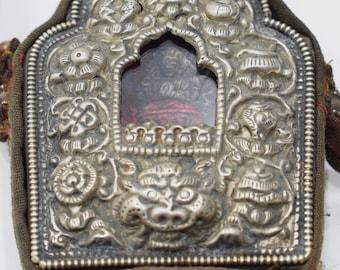 Tibetan Buddhist Ghau Shrine Traveling Prayer Shrine