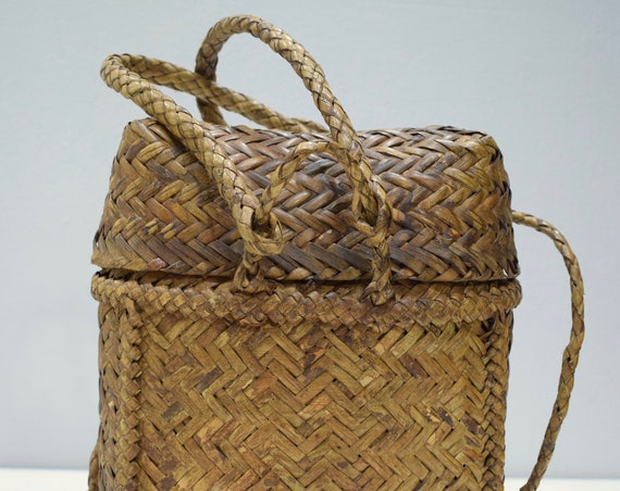 Backpack Philippines Bontoc Woven Plaited Rattan Backpack
