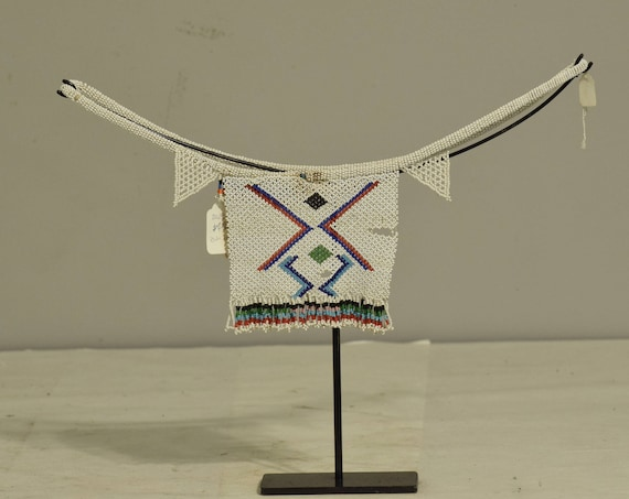 African Zulu Young Girls Cache-Sex Apron South Africa Handmade White Red Beads Belts Modesty Garment Skirt Zulu Apron